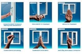 Фурнітура для вікон ПВХ