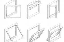 Відкривання стулок в пластикових вікнах