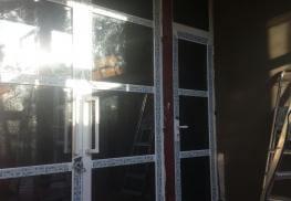 Фасадные двери алюминий Altest Pony 375