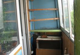 Балконный блок на старом балконе