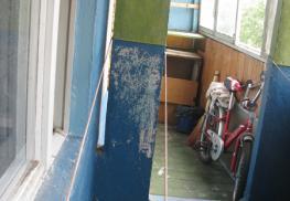 Демонтируемый балконный блок