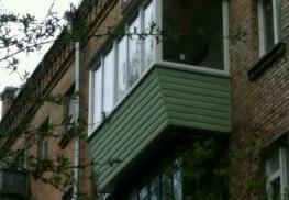 Готовый балкон с выносом