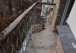 Вид балкона без выноса