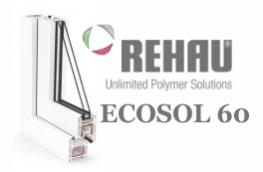 Профиль rehau ecosol design 60