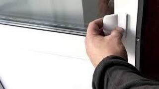 Ручка для балконных дверей, ухват