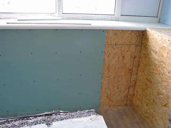 Фото внутренней и наружной обшивки балкона, лоджии в киеве.
