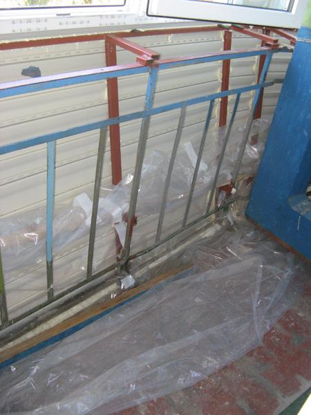 Фото изготовление выноса балкона в киеве.