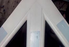 Острый угол пластиковые окна