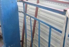 Усиление перил на балконе