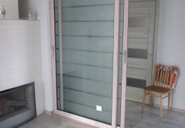 Раздвижная дверь холодный алюминий