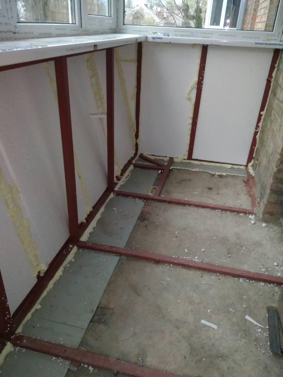 Вынос балкона по полу фото.